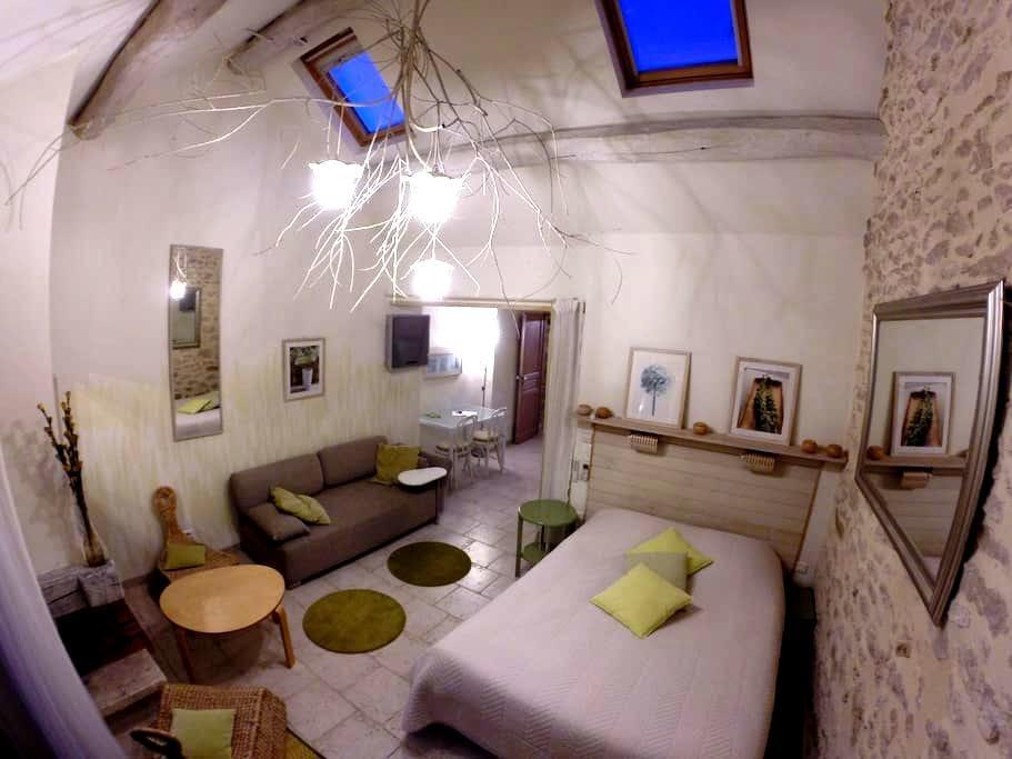Studio en rez de jardin - Milly-la-Forêt - Huoneisto