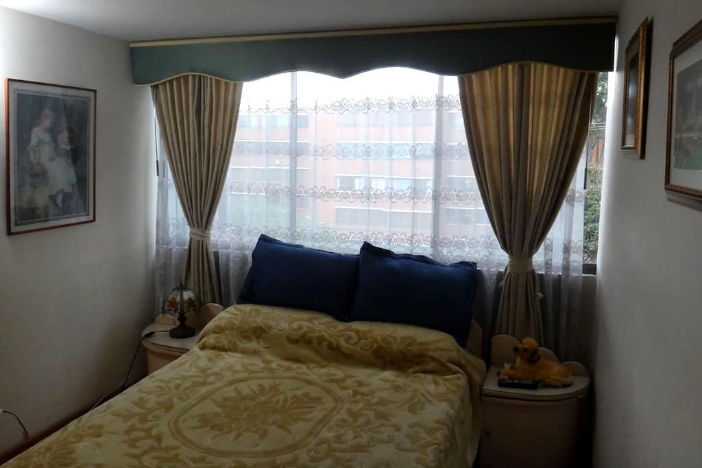 cozy and nice apartment double bed - Bogotá - Appartement