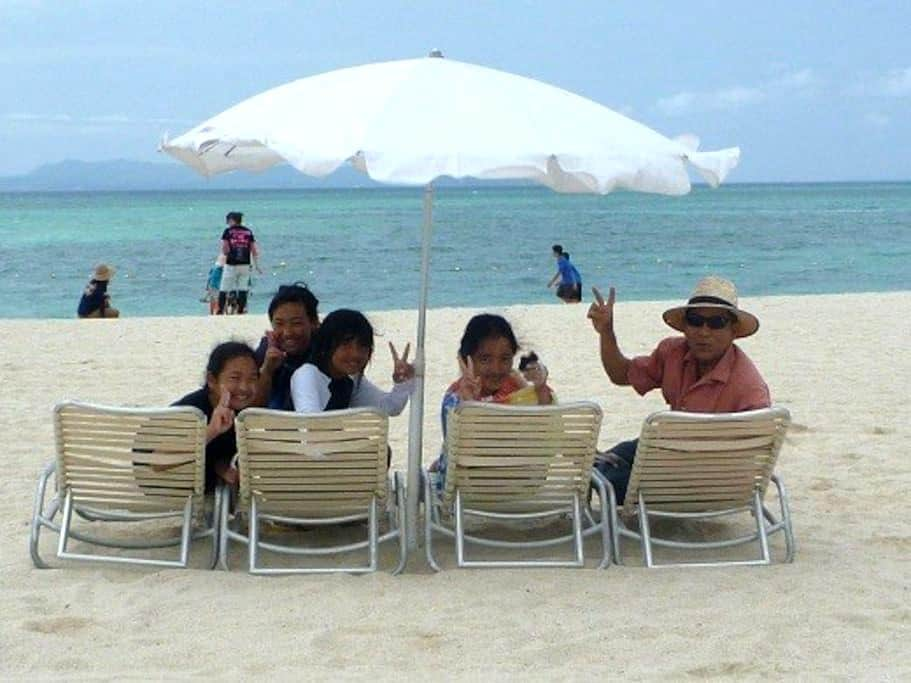 Sandals Stroll to the Beach -2 min (1F) - Kunigami-son - Rumah