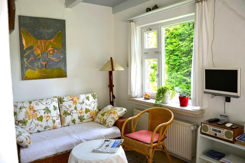 Gemütliche, helle Wohnung, ruhig gelegen - Berumbur - Apartment