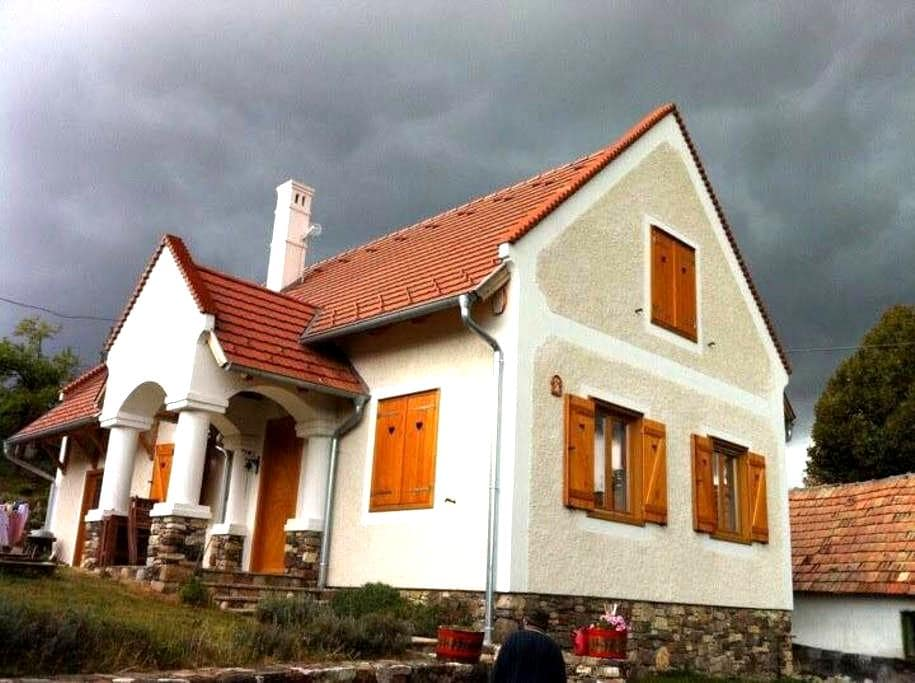 Cosy and peaceful holiday house for all 4 seasons - Balatonhenye