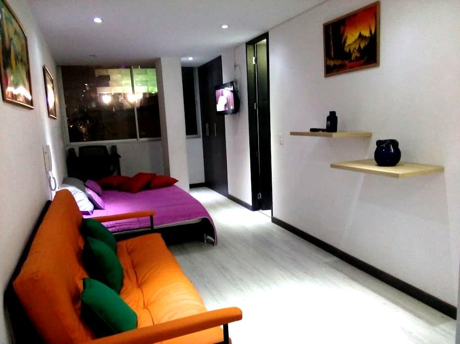 Modern, Chapinero - Very easy transportation - Bogota - Apartament