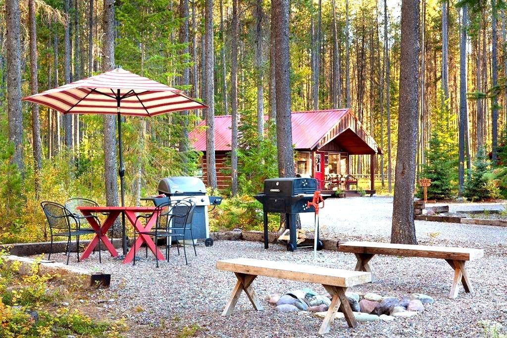 Reclusive Moose Cabin - Columbia Falls - Cabin
