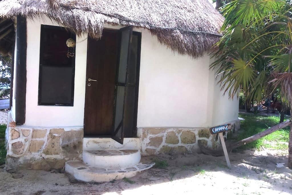 kabah-na. cabaña 2.MahahualBeach - Mahahual