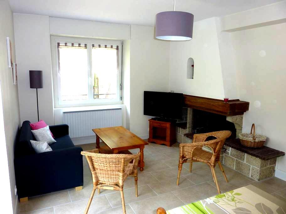 Appartement rénové avec balcon - Saint-Nectaire - Apartemen