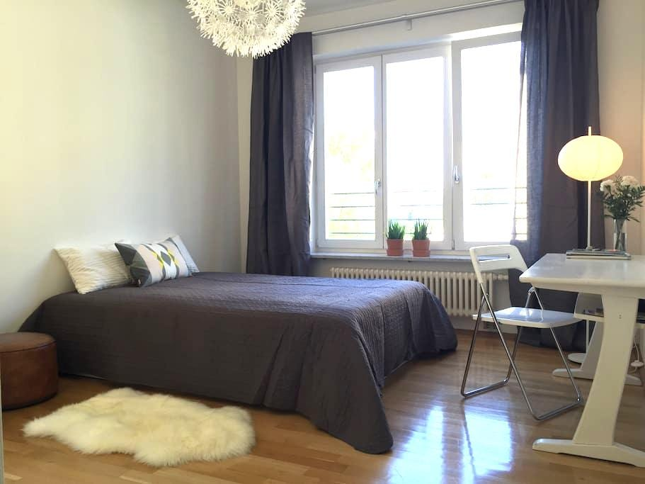 Stylish, quiet but centrally located room - Munich - Appartement en résidence