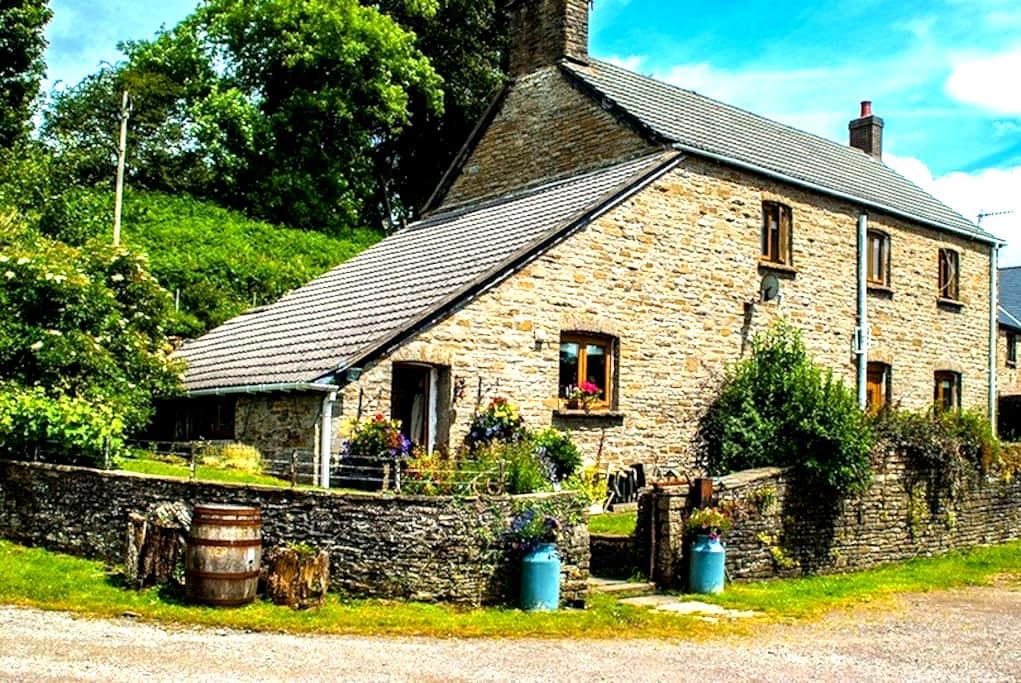 Farmhouse on a working cider farm - Hafodyrynys, Near Newbridge