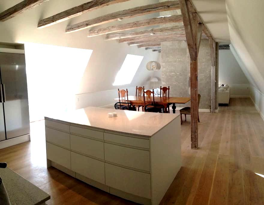 A spacious Penthouse in the best location - Gentofte - Apartamento