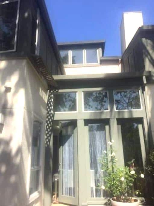 Spacious, quiet bedroom in well-located apartment - Palo Alto - Appartement en résidence