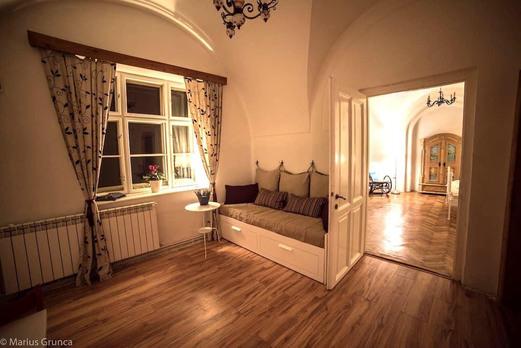 Romantic Apartment in the Old Town - Sibiu - Leilighet