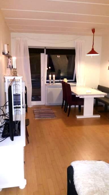 Cozy small apartment in centre - Middelfart - Apartamento