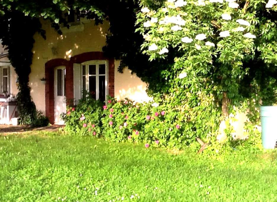 Gemütliches Apartment (eigener Eingang) in Burgund - Flammerans - Wohnung