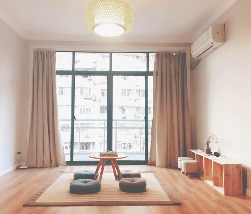 404A Cozy room near French Concession| Metro L2/11 - Shanghai - Wohnung