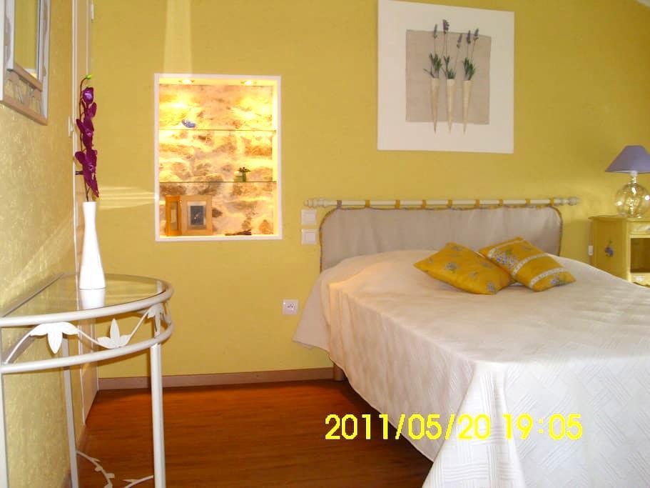 """Ravissante chambre d'hôtes """"MISTRAL"""" - Saint-Pal-de-Chalencon"""