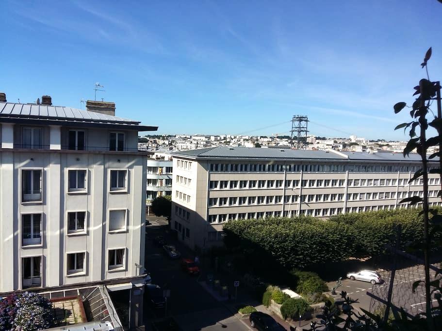 Chambre individuel en hyper-centre de Brest - Siam - Brest - Lägenhet