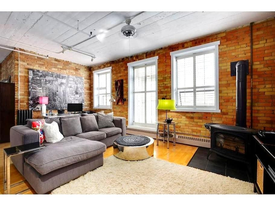 Downtown loft in the heart of Calgary - Calgary - Çatı Katı