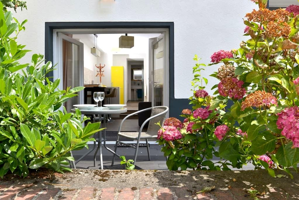 Appartement Deluxe mit Holzterasse und Burgblick - Cochem - Apartment