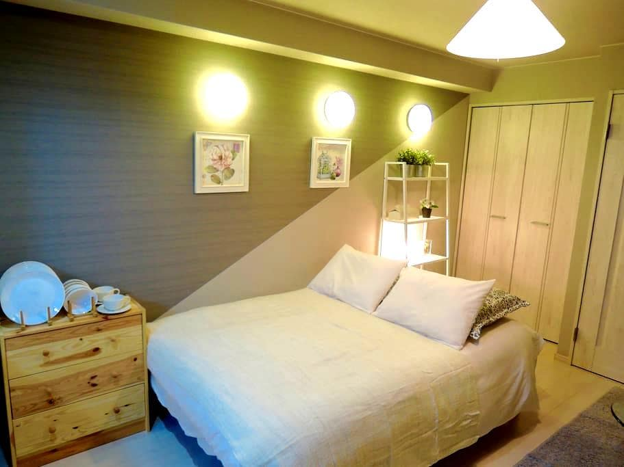 New construction.Shinsaibashi, Namba (5A) - Osaka - Apartamento