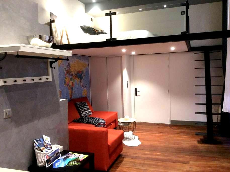 Studio rare plein centre - Chambéry - Appartement