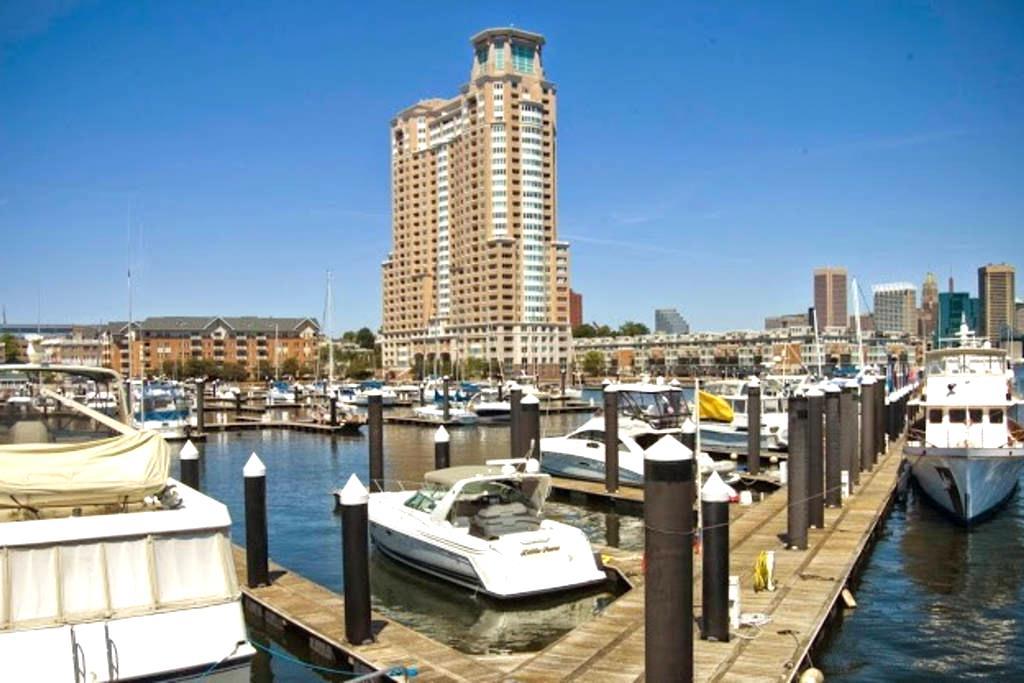 Inner Harbor - With Parking-Luxury Apt - Baltimore - Apartmen