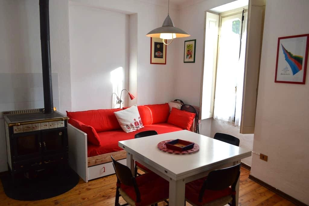 cozy apartment in the center of Cesana Torinese - Cesana Torinese - Appartement