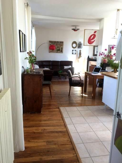Chambre dans belle maison à deux pas du centre ville - Auxerre - 独立屋