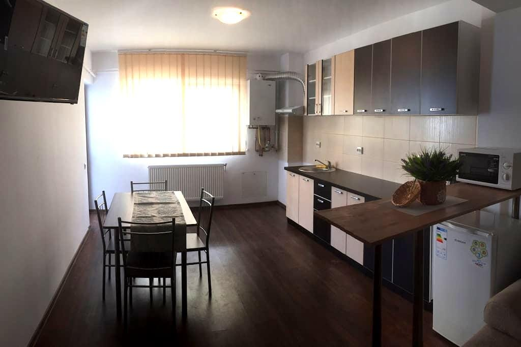 New and modern 1 bedroom apartment - Șelimbăr - Wohnung
