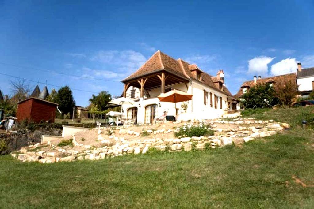Traditional French House - Saint-Jory-las-Bloux - Casa