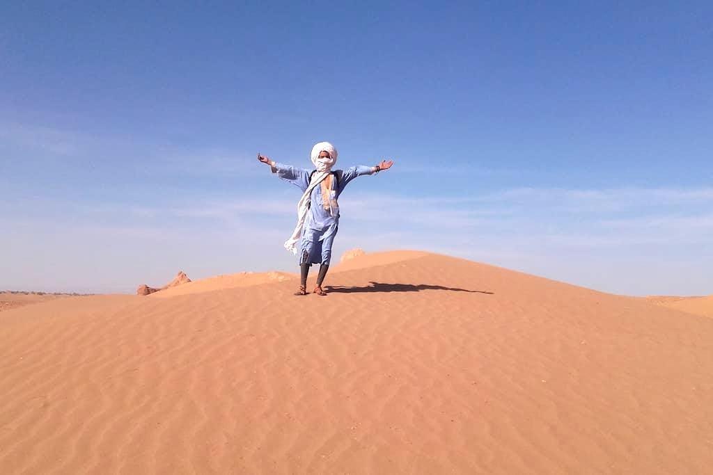 Desert Camp Chraika - Mhamid - Wikt i opierunek