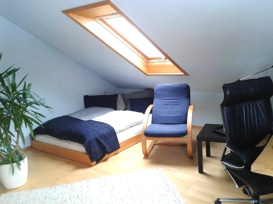 Zimmer mit Küche, Bad oder ganze Wohnung buchbar - Aglasterhausen - Huoneisto