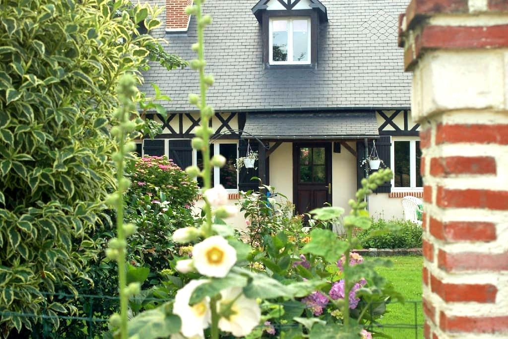 La Polaris gîte neuf  Etretat jardin romantique - Angerville-l'Orcher - House