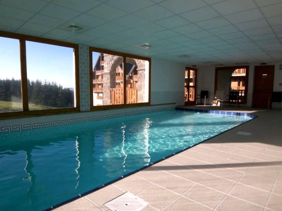 STATION T3*** 6P avec PISCINE, terrasse expo sud - Besse-et-Saint-Anastaise - Serviced apartment