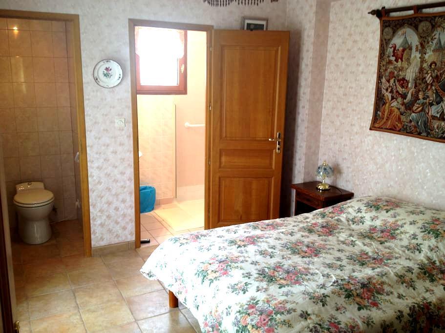 Suite parental avec SDB et terrasse - Condé-sur-Vesgre - Hus