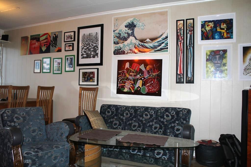 Exellent location, Solsiden restaurants, veranda - Trondheim