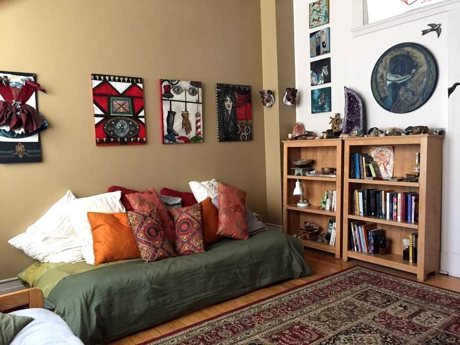 Downtown Boise Studio Sanctuary - Boise - Huoneisto
