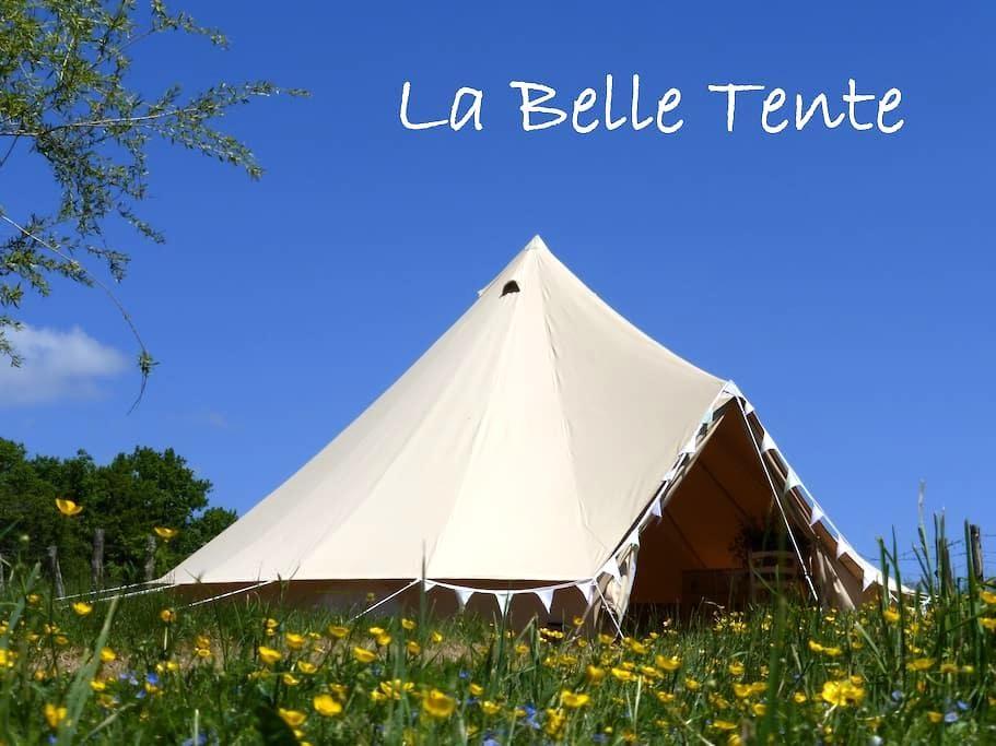 La Belle Tente shabby-chic glamping - Arnac-Pompadour