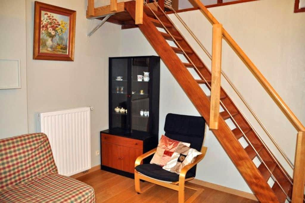 Renovated penthouse with convenient location - Namur - Apartment