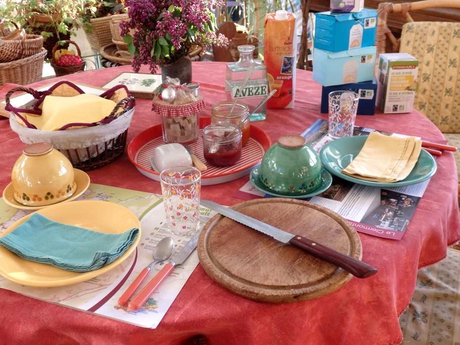 Petit nid pour amoureux de nature - Clermont-l'Hérault - ที่พักพร้อมอาหารเช้า