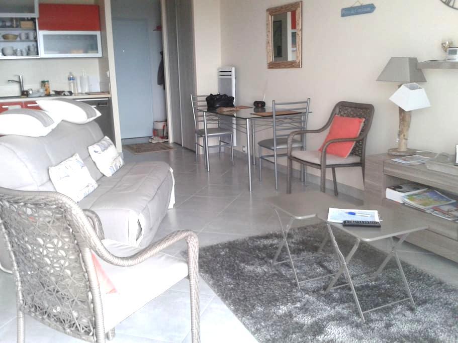 appt T2 dans résidence, vue sur mer - Royan - Apto. en complejo residencial