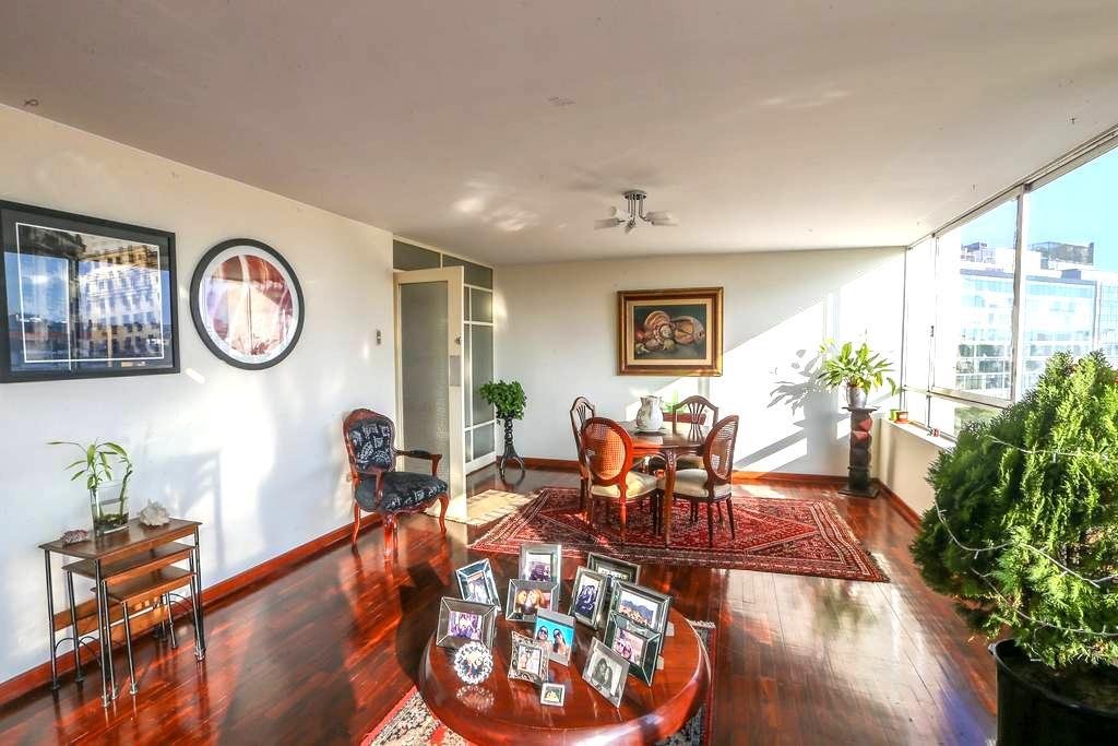 Habitación con Gran Vista en Miraflores - Lima