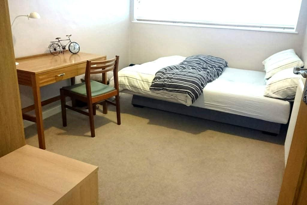 Quiet room, convenient location. - Surbiton - Lägenhet