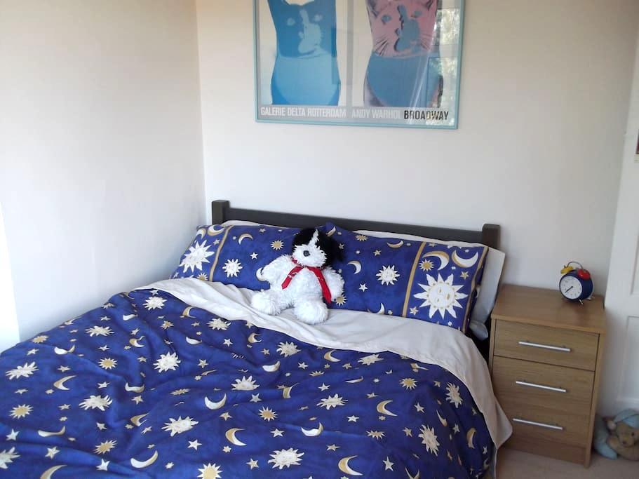 Double room, views over the garden - Byfleet - Bed & Breakfast