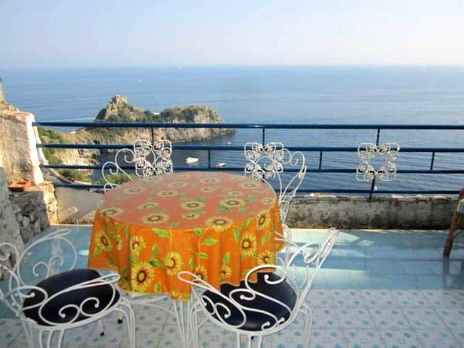 Apartment Aquamarino with pool - Conca dei Marini
