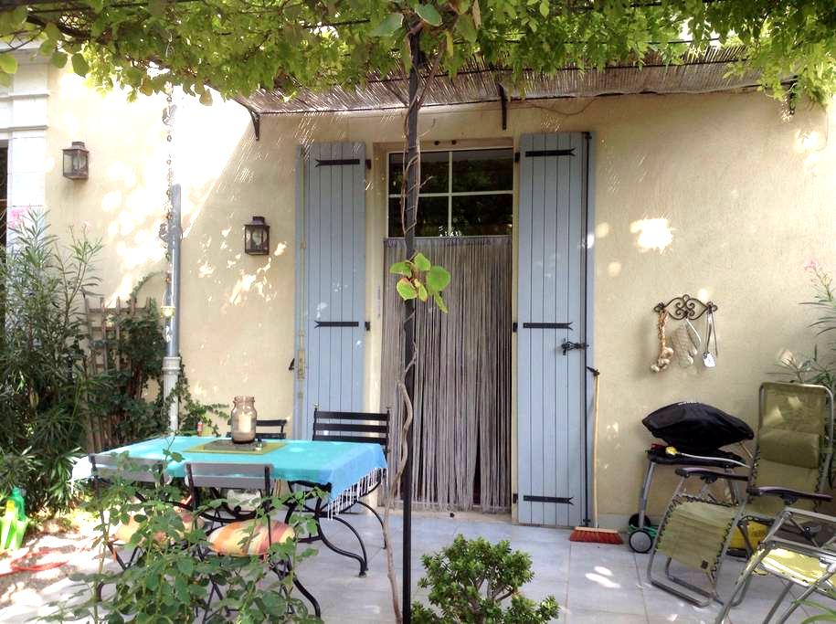 Garden apartment in 200 year old bastide - Les Arcs - Lejlighed