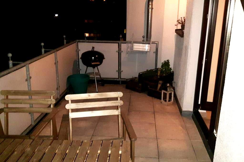 Gemütliche Wohnung in Hürth, Anbindung nach Köln - Hürth - Apartment