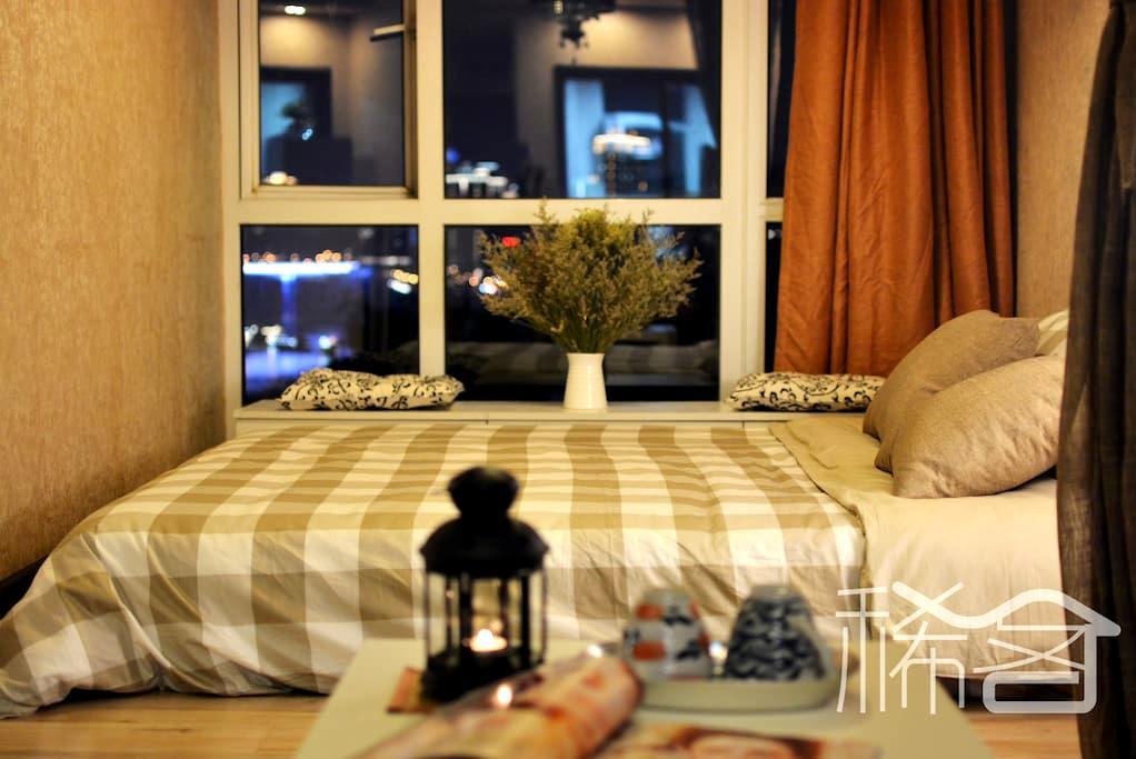 稀客Xstranger•嘉陵壹号-嘉陵江畔轻轨沿线江景公寓 - Chongqing - Byt