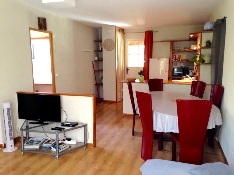 2 pièces calme proche de Nice, Spa - Tourrette-Levens - Apartment