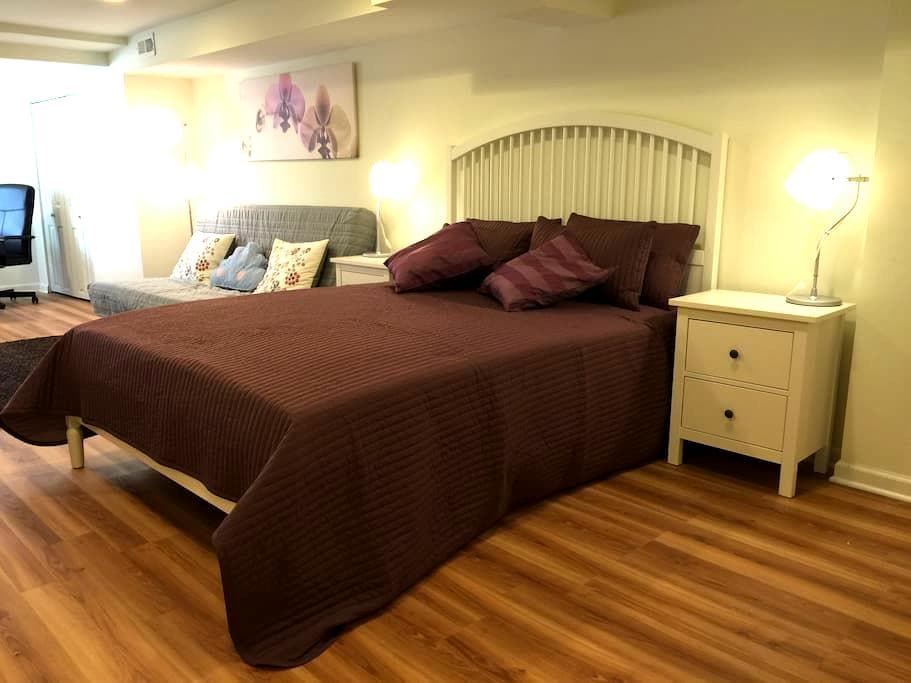 Private Suite with Bed & Bath @JHU! - Baltimore - House