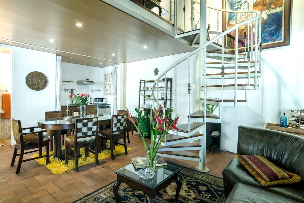 Charming Loft 101 Zona Colonial  - 산토도밍고 - 로프트