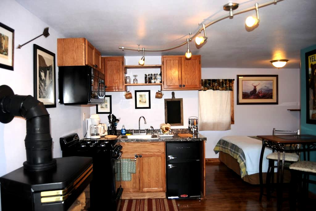 Yellowstone Self Cater Studio #6 - West Yellowstone - Appartement